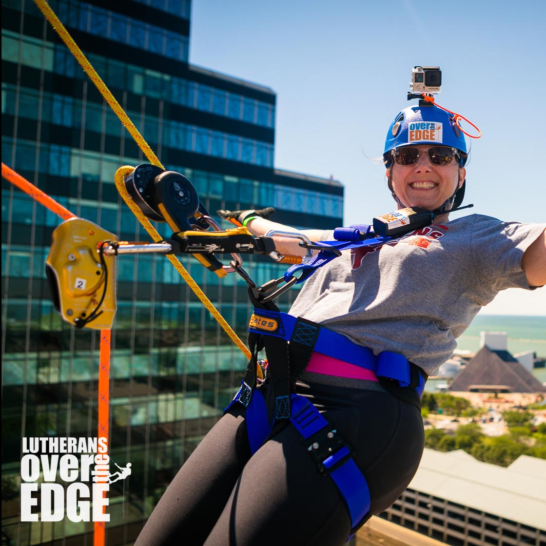Lutherans Over The Edge Fundraising Event