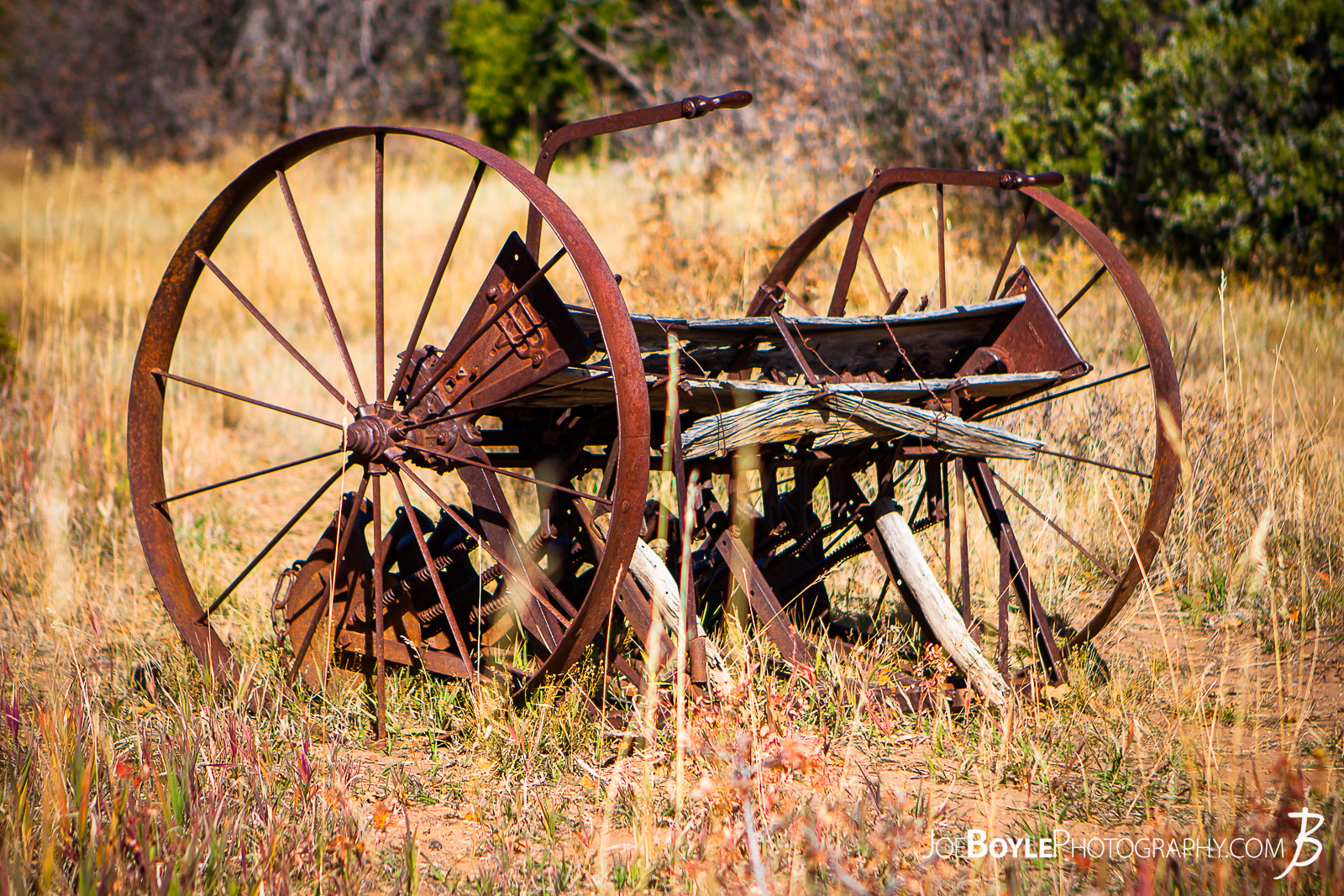 This is a photo of abandoned farming equipment on the West Rim Trail in Zion National Park. This was near or on our way to the Lava Point Overlook. I thought it was so strange that this abandoned piece of farming equipment was still here. I'm not sure weather to call it a tractor, a cart, a tiller or a plow but I do wonder at it's story! Who left it behind and why? What did they farm with it and what was life like during the time of it's use? I'm imagining and hoping it was simpler life (yet probably more difficult life speaking of a labor intensive period of time). I hoping it was used in a time where people were more connected to the land and beauty around them in the every day!  Here are some links to more articles and hiking info about the West Rim Trail and hiking trails in Zion National Park and a Map of Zion National Park.