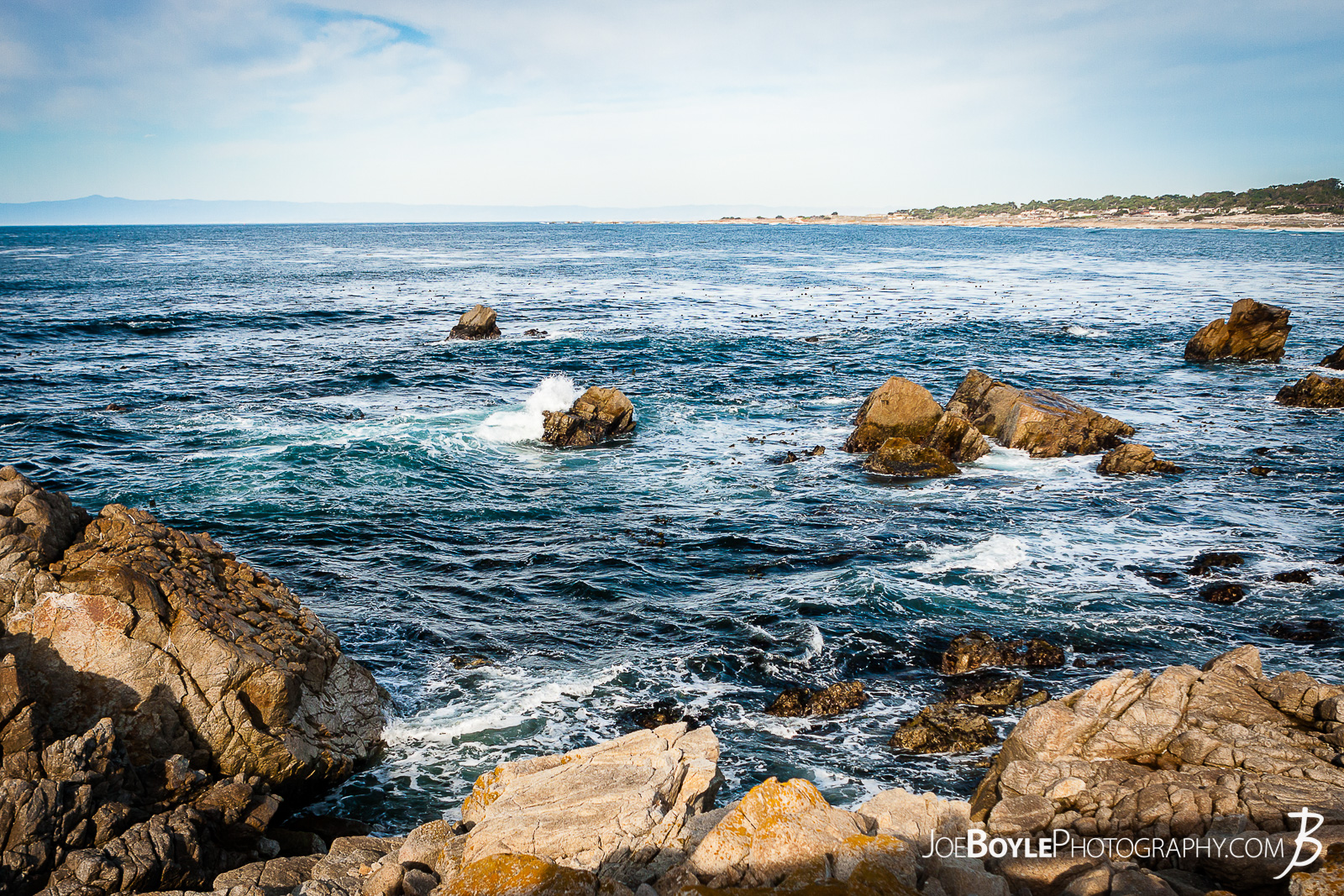 While visiting a friend in California we took the 17 Mile Drive to Carmel by the Sea. It was a great drive with absolutely awesome and stunning views! Here is a photo from a few different shots that I took of this area. The wind was starting to whip up and the waves were getting larger, cooler and more extravagant.