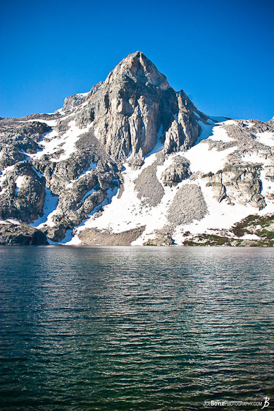One of the many very cool looking mountains that I came across while hiking the John Muir Trail