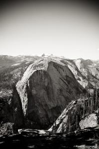half-dome-from-the-front-black-white