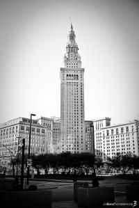 terminal-tower-at-public-square-black-white