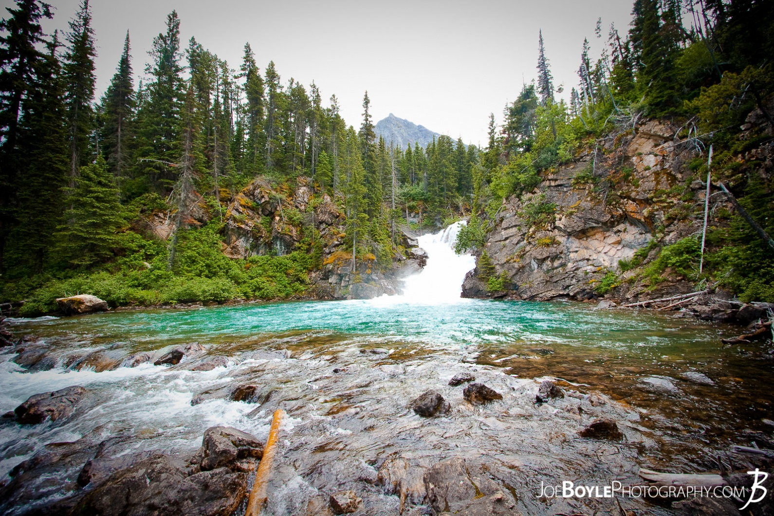 waterfall-in-glacier-national-park-wide