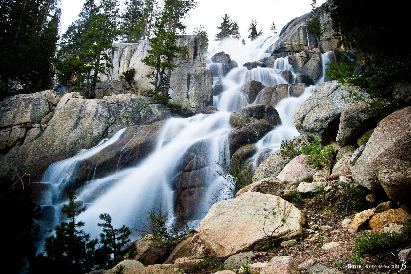 waterfall-over-rocks