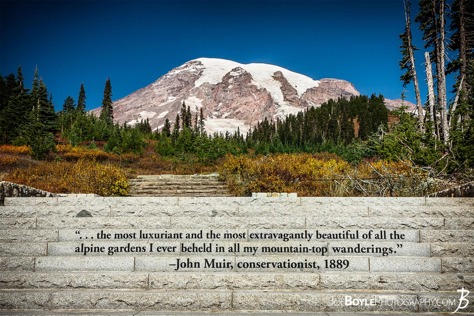 mount-rainier-with-john-muir-quote-on-steps